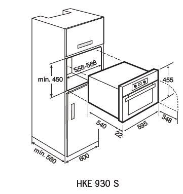 HKE930S-teka-oven-dimensions