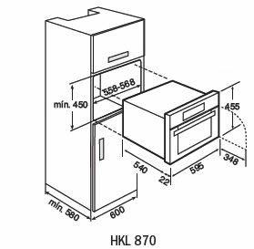 HKL870-compact-oven-dimension