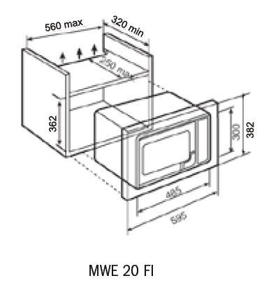 MWE 20 FI-dimensions