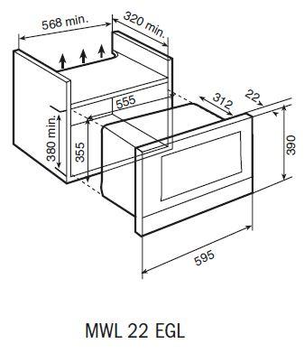 MWL-22 EGL-microwave-dimensions