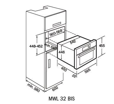 MWL 32 BIS-combi-microwave-dimensions